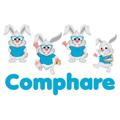 logo character for comphare