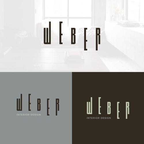 Logo concept for interior design company