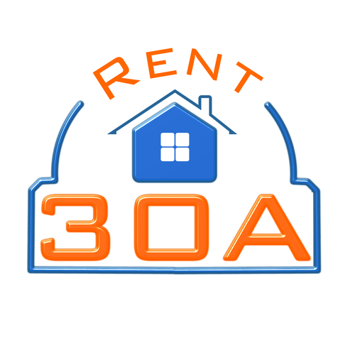 Concept logo for a real estate agency