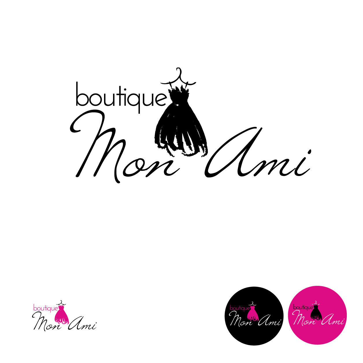 Help Boutique Mon Ami with a new logo