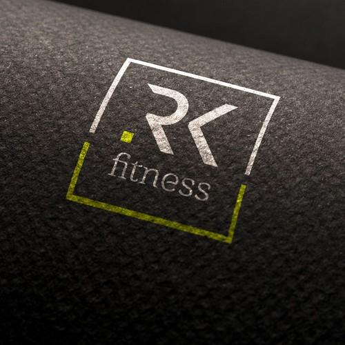 RK FITNESS Logo Design