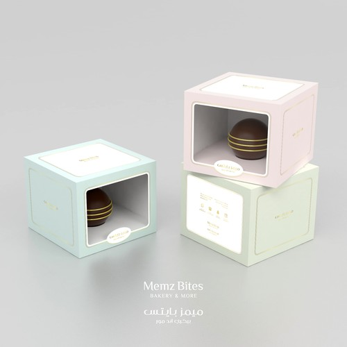 Modern design for Chocolate Ball box