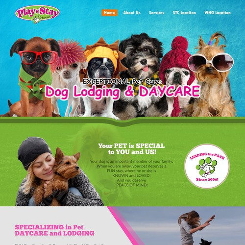 Dog Daycare website
