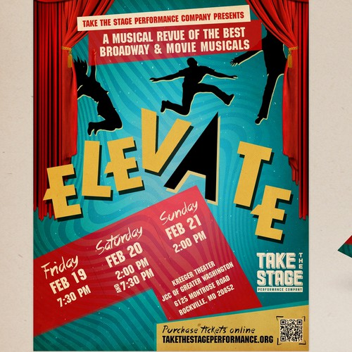 music theatre flyer design