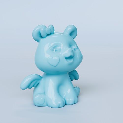 Cute 3D Bear