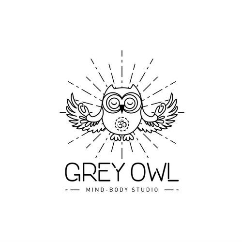 Logo design for Grey Owl