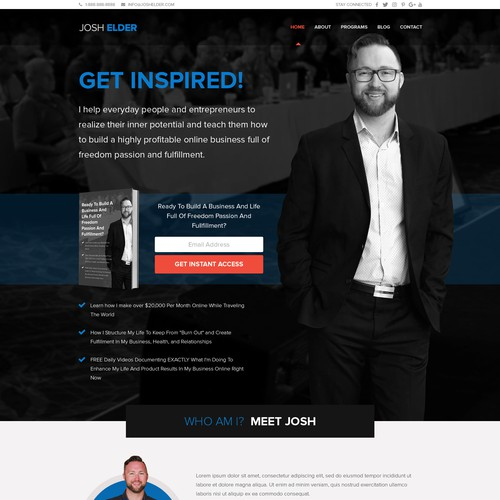 Web Page Design Entry