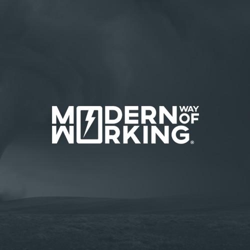 Modern Way Of Working Logo Design