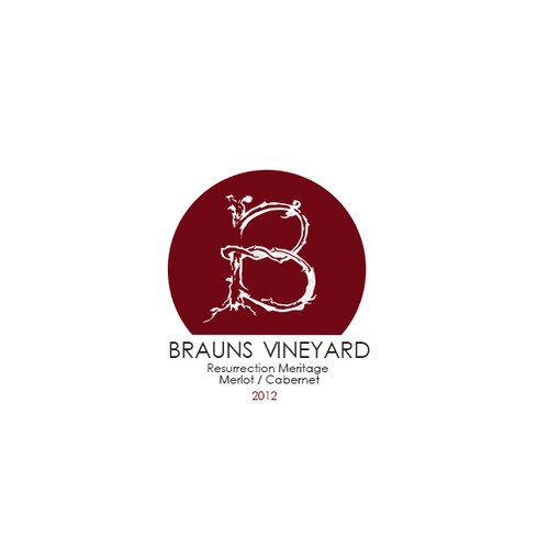 Create an enticing logo for a new boutique vineyard / winery