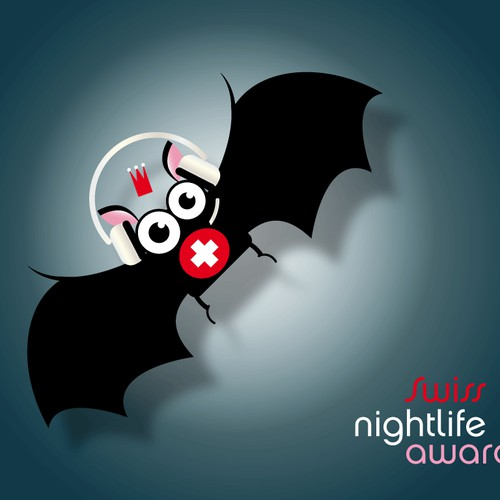 "Basic visual for an event: ""Swiss Nightlife Award 2011""  needs a new print design"