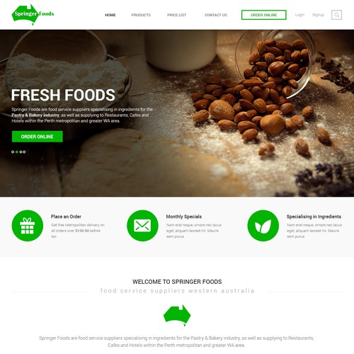 Wholesale Food Service