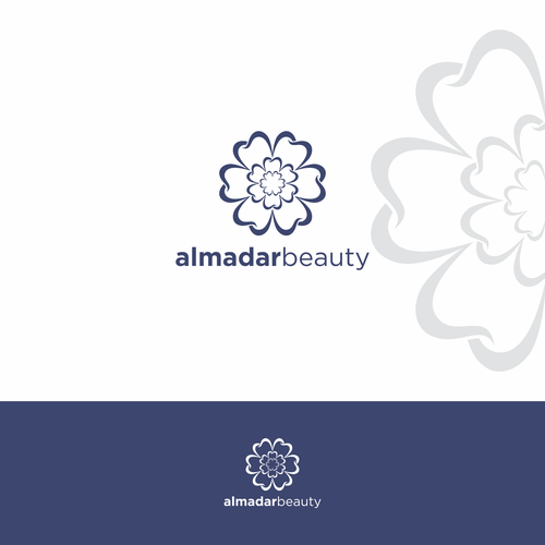 design a great brand identity for a great beauty center
