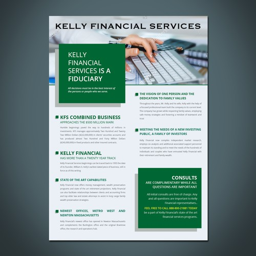 FINANCIAL SERVICES FLYER