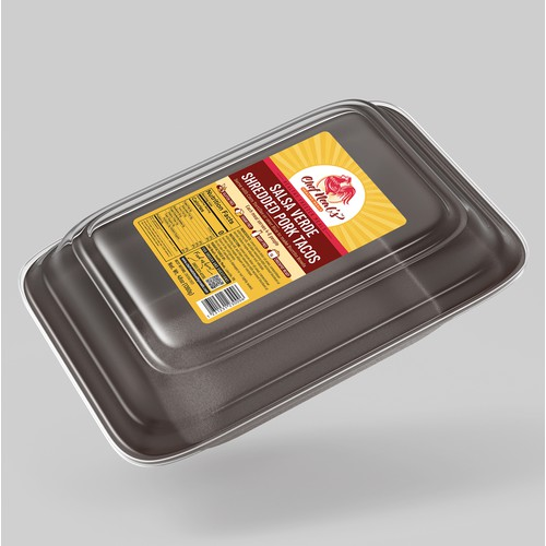 Label for Healthy Freezer Meals