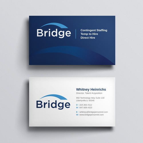 Clean & Minimal business card