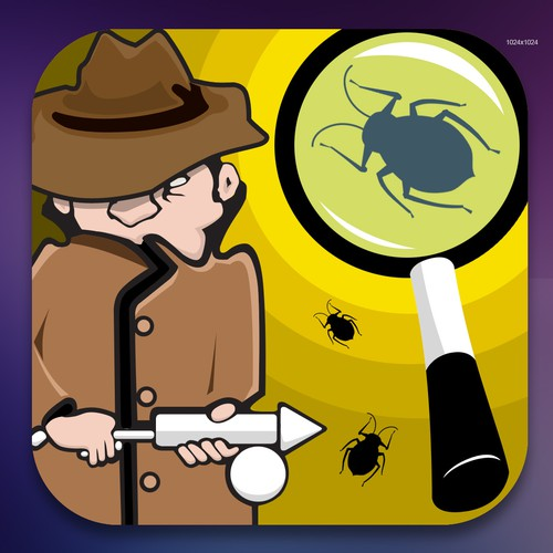 Suburban Exterminating needs a new icon or button design
