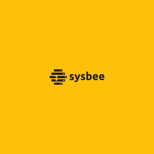 Bee concept logo forsysbee
