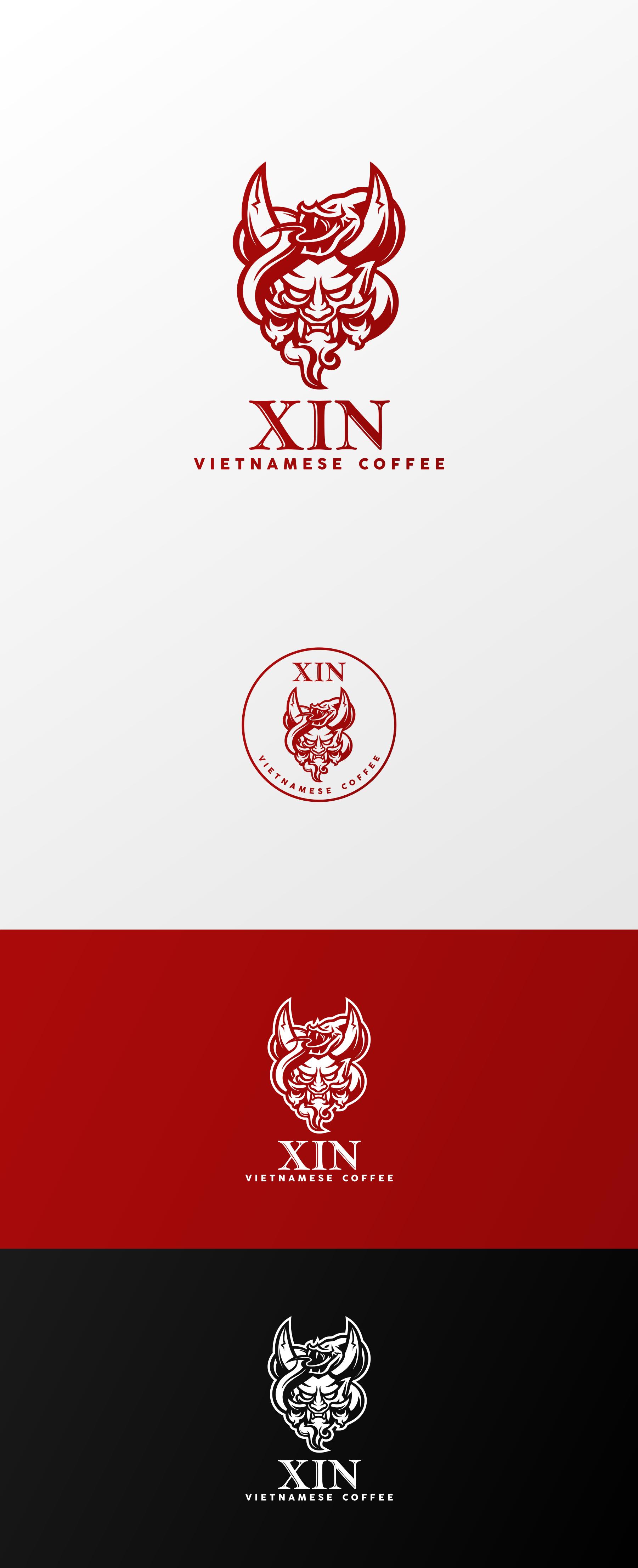 Oni Demon and Snake Logo