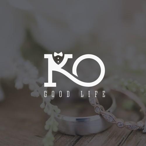 Logo for black tie NYC wedding