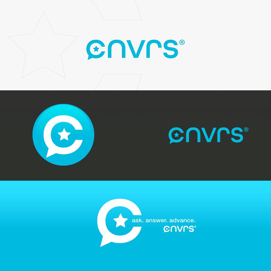 Logo for new social network: CNVRS