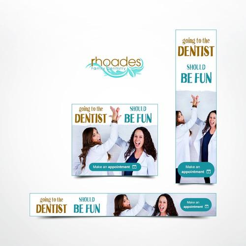 Banner ads for dentist
