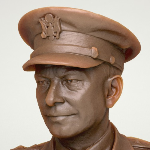 Eisenhower 3D Print Model