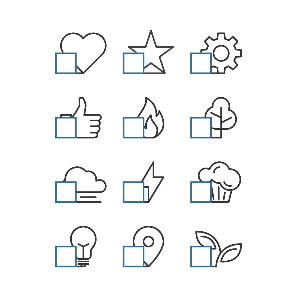 Startblock Iconset