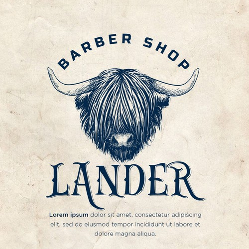 Logo for Barbershop