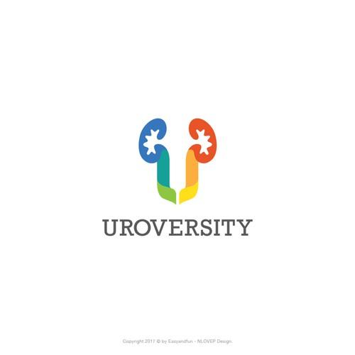 Logo concept for 'Uroversity'