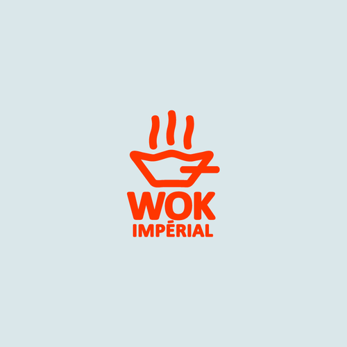 Create a logo for Chinese wok restaurant