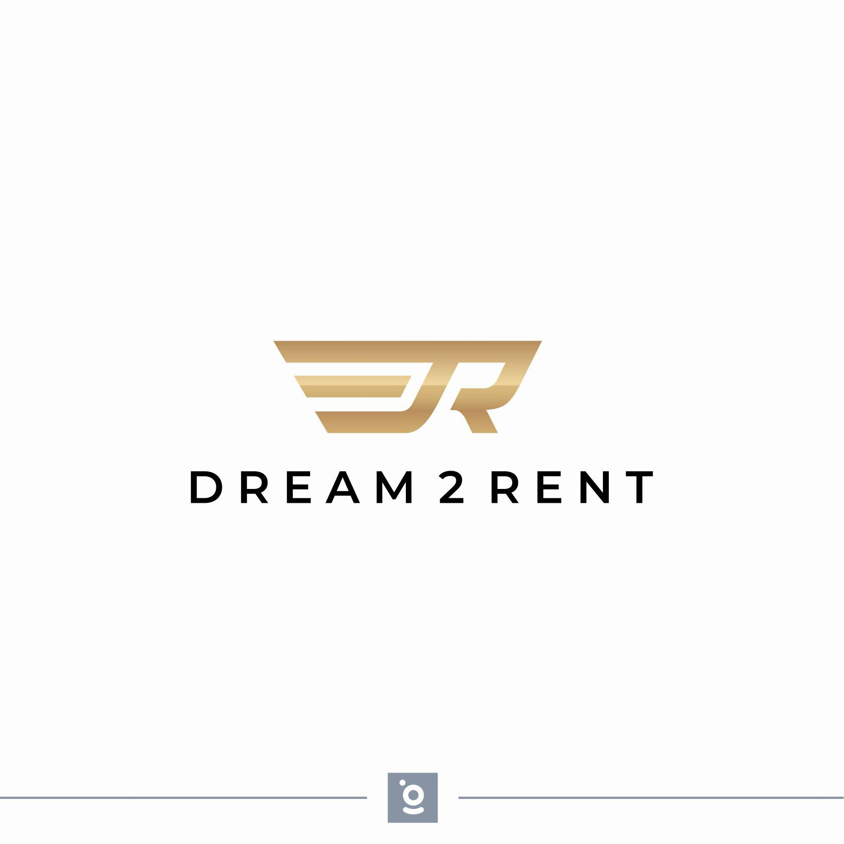 Logo for an exclusive Rental Service of Cars, Planes and Boats