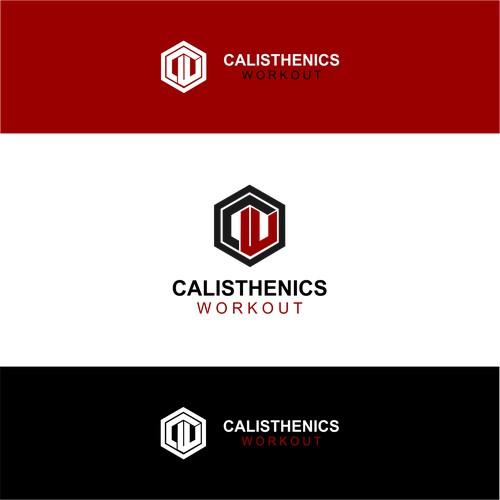 logo concept for Calisthenics Workout