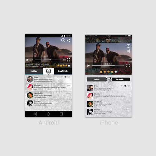 Video Streaming IOS and Android Application