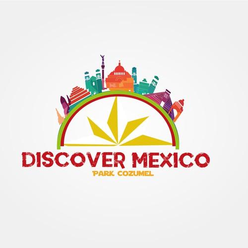 Logotipo DISCOVER MEXICO PARK COZUMEL