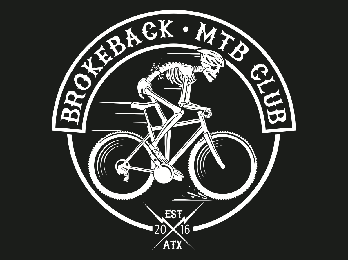 Brokeback MTB club logo