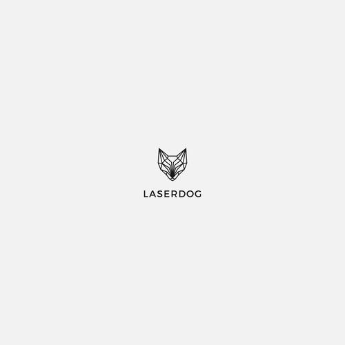 LASERDOG geometric logo