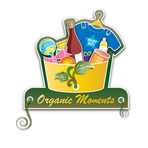 Logo for a gift basket startup