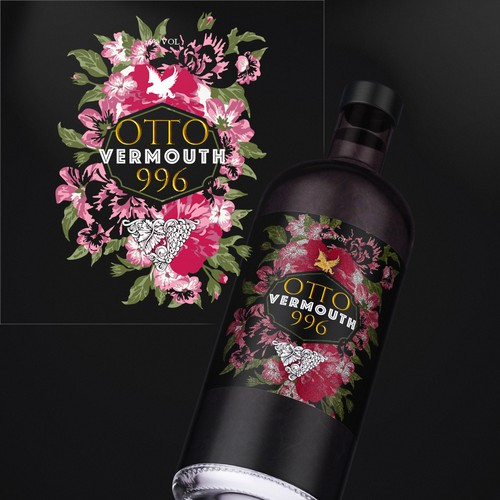 Vermouth Bottle Design