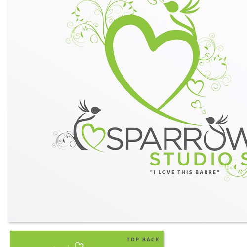 Sparrow Studios (Yoga & Barre Studio) wants your funky ideas for our new Ts!