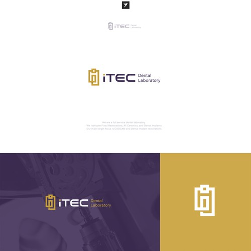 Logo design for iTec Dental Laboratory