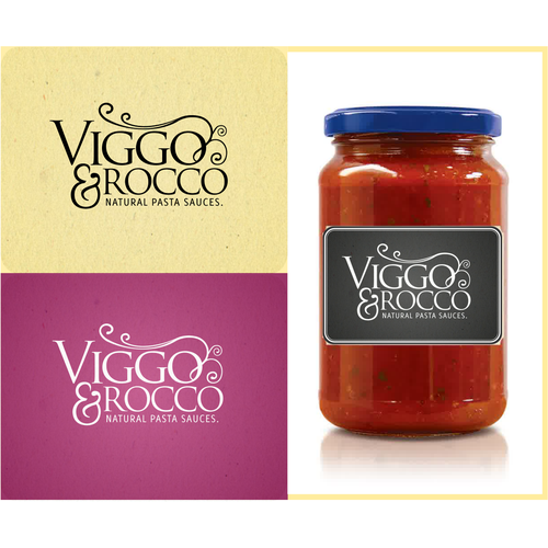 bold, classic and high-quality logo design for pasta sauce