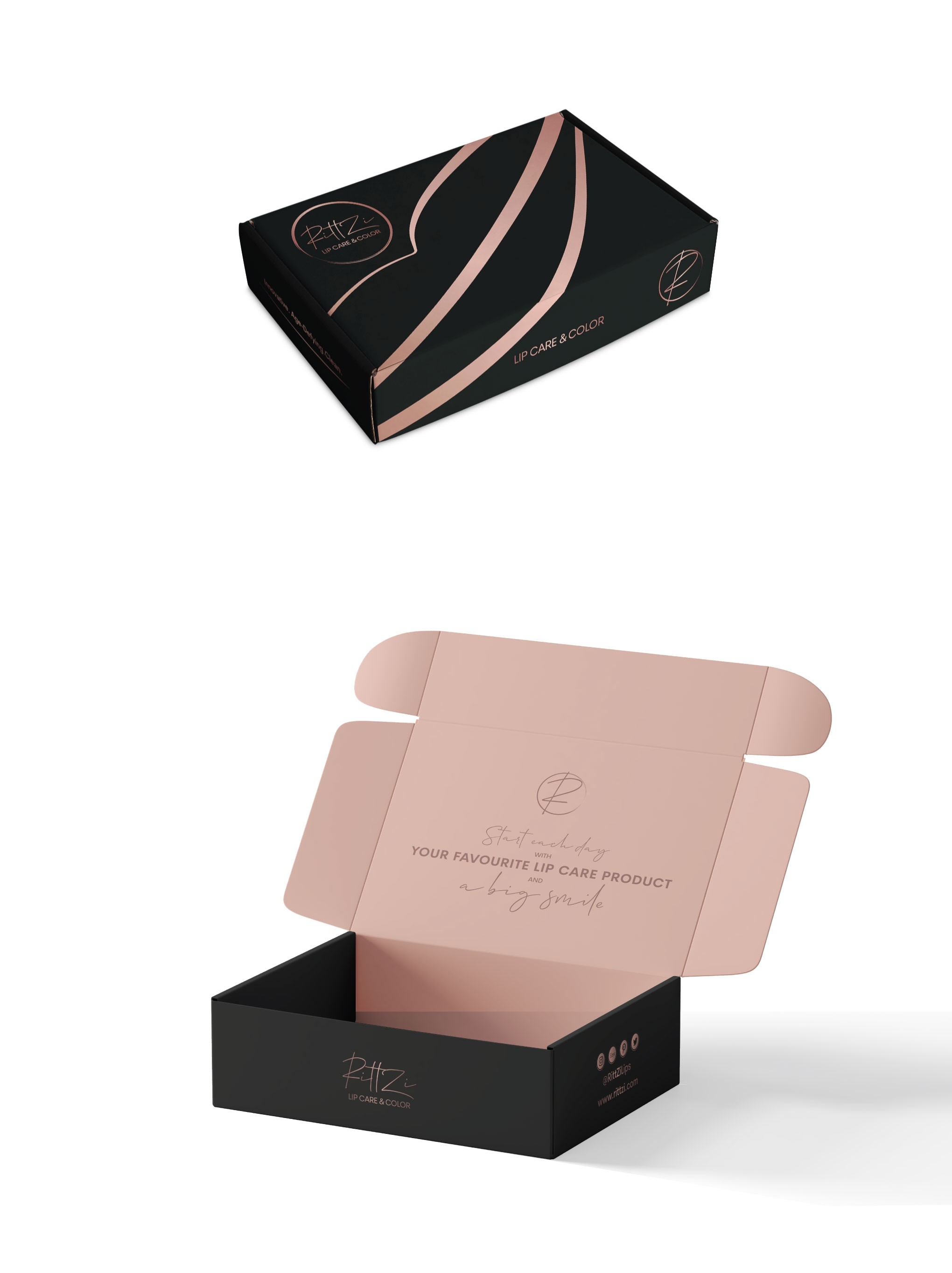 Design Mailer Box for New Beauty Brand