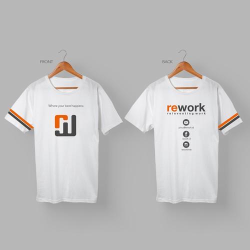 T-shirt design for Rework
