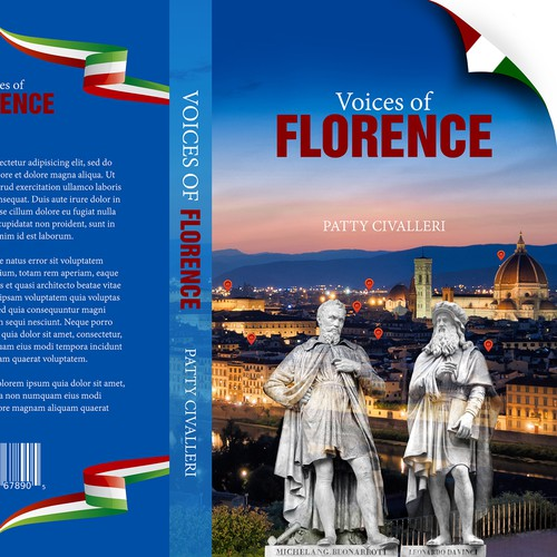 """Cover for book """"Voices of Florence"""""""