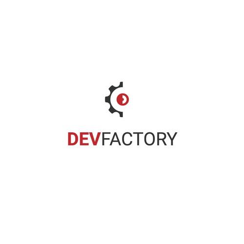 DevFactory logo design proposition