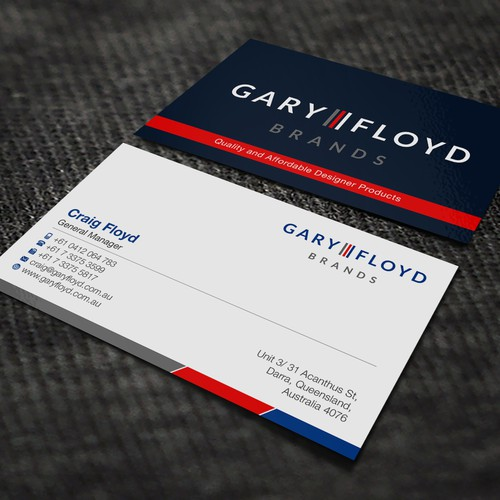 Business Card for Gary Floyd