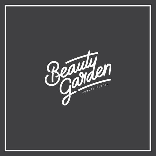 Lettering Logo for a beauty studio