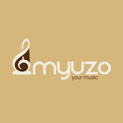 Logo design for Myuzo