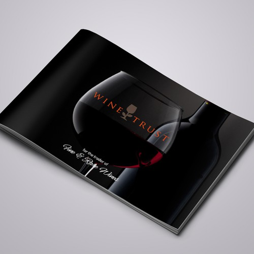Help WineTrust Investments with a new brochure design
