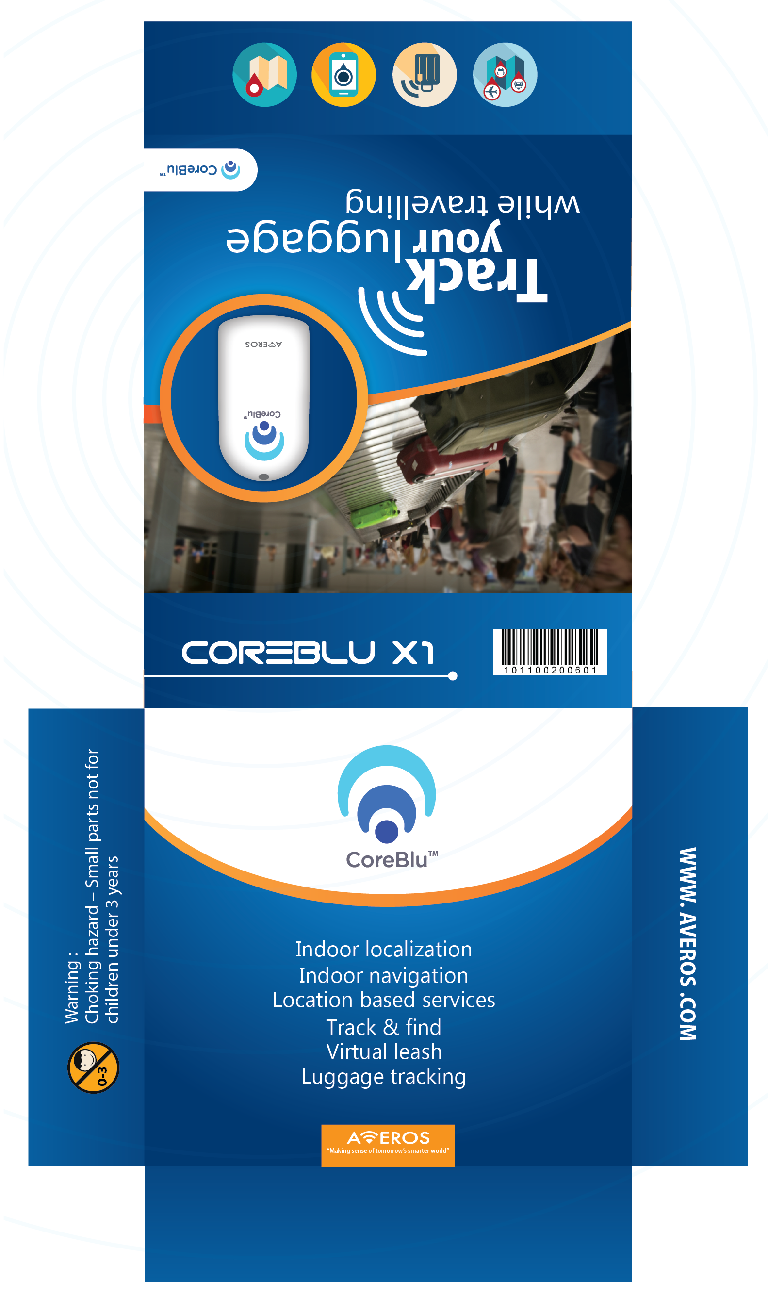 Product Packaging for advance Bluetooth low energy beacon